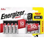 Energizer Max AA ceruza elem LR6 bl/8