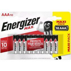 Energizer Max AAA mikró elem (LR03) BL/10