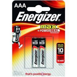 Energizer Max AAA mikró elem (LR03) bl/2