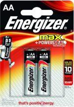 Energizer Max AA ceruza elem LR6 bl/2