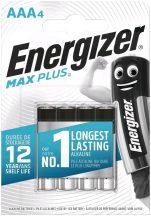 Energizer MAX Plus AAA mikro elem LR03 BL/4