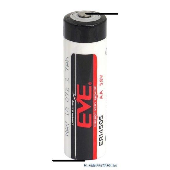"EVE ER14505 3,6V lithium elem  AA ( ceruza) ""Z"" forrfüllel"