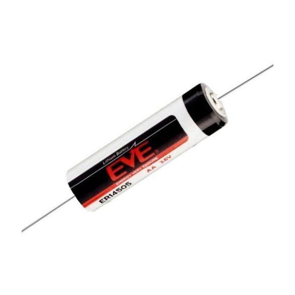 EVE ER14500-CNA  3,6V lithium elem AA ( ceruza) axiális (ER14505)