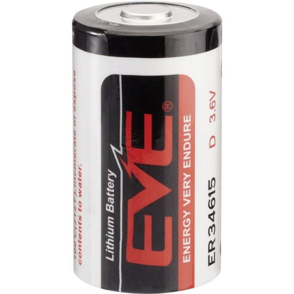 EVE lithium elem 3,6V D (góliát) 3,6V LS ER34615