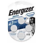 Energizer CR2032 ULTIMATE lithium gombelem 3V bl/4