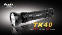 Fenix TK40 elemlámpa LED  630 lumen