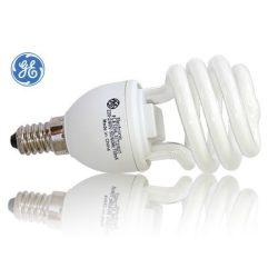 230V/8W GE energiatakarékos izzó E14 fél spirál
