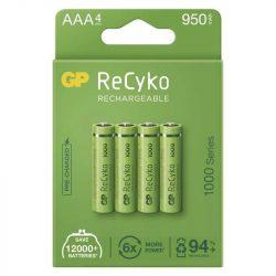 GP ReCyko HR03 (AAA) 1000mAh 4db B21114