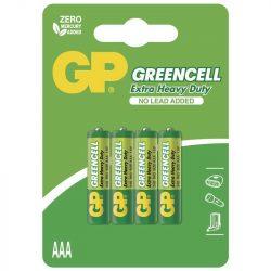 GP Greencell mikró elem bliszteres/4 (B1211,GP24G-C4)