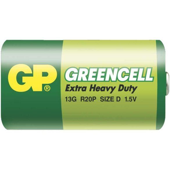 GP Greencell góliát elem R20 fóliás/2 B1240