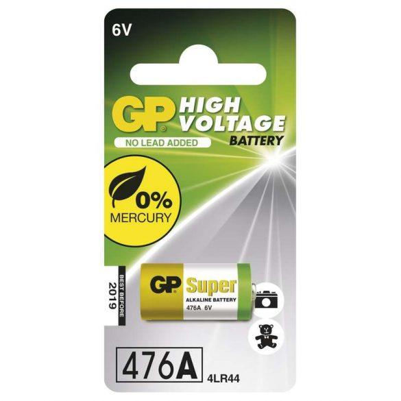 GP 476A Super alkáli elem  (4LR44) 6V bl/1 105mAh B1303