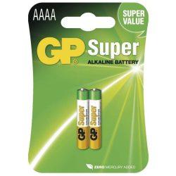 GP 25A Super alkáli riasztóelem  AAAA 1,5V BL/2  B1306