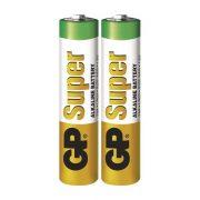 GP Super alkáli elem mikró AAA (LR03) fóliás/2 (B1310,GP24A-S2)