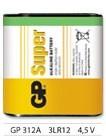 GP Super alkáli elem 4,5V (3LR12) fóliás/1