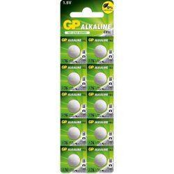GP 76A/AG13/LR44 alkáli gombelem bliszteres/10 B1376