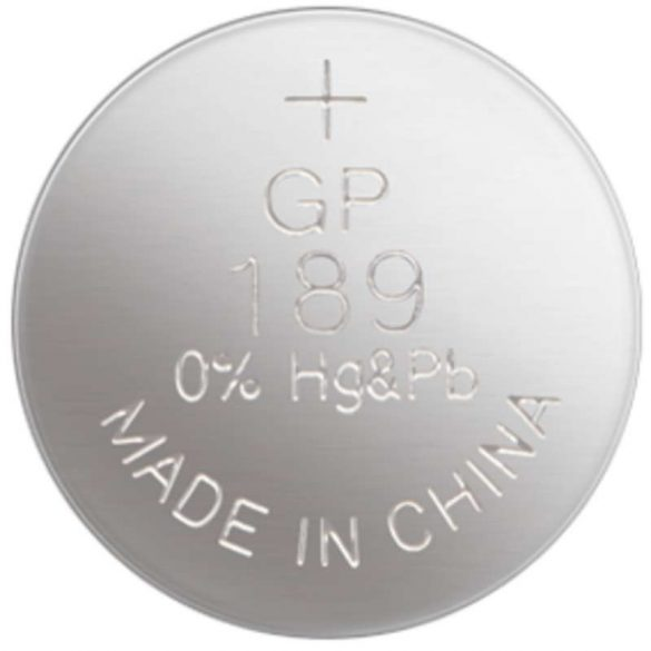 GP189A/AG10/LR54 alkáli gombelem bl/10 B1389
