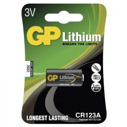 GP CR123 3V-os lithium fotó elem bl/1 B1501