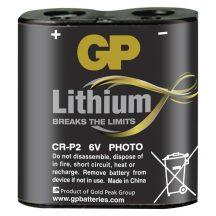 GP CR-P2 (223) 6V-os lithium fotó elem