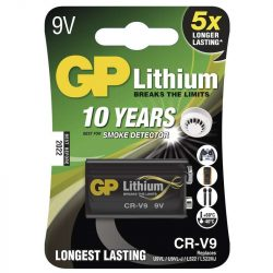 GP 9V-os LÍTHIUM ELEM CR-V9 1DB/BL (L522,U9VL) B1509