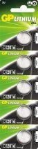 GP lithium gombelem CR2016- 3V bl/5