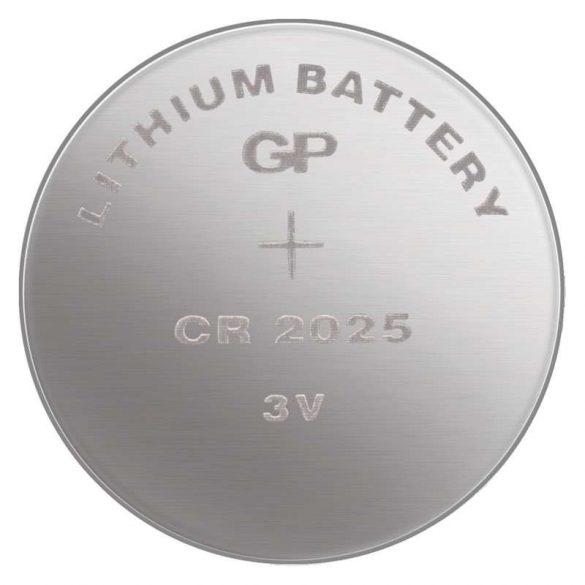 GP lithium gombelem CR2025- 3V bl/5 B1525