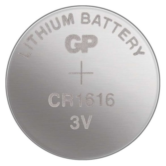 GP lithium gombelem CR1616- 3V bliszteres/5 B1560