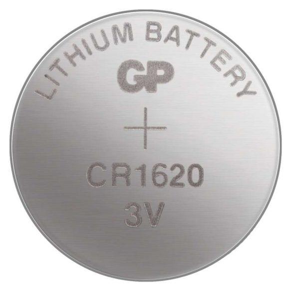 GP lithium gombelem CR1620- 3V bliszteres/5 B1570