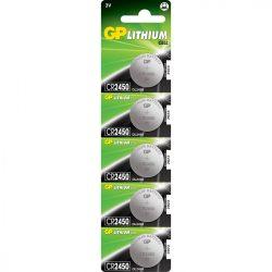 GP CR2450 lithium gombelem 3V bliszteres/5 B1585