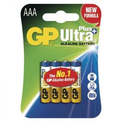 GP ULTRA PLUS ALKÁLI ELEM LR03 (AAA) 4DB/BLISZTER B1711