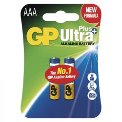 GP ULTRA PLUS ALKÁLI ELEM LR03 (AAA) 2DB/BLISZTER  B17112