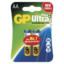 GP ULTRA PLUS ALKÁLI ELEM LR6 (AA) 2DB/BLISZTER B17212