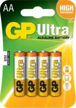 GP Ultra alkáli ceruza elem 15AU (LR6) bl/4