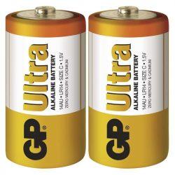 GP Ultra alkáli C baby elem (LR14) fóliás/2 B1930