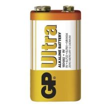 GP Ultra alkáli 9V-os elem (6LF22) fóliás/1