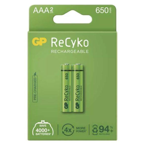 GP ReCyko HR03 (AAA) 650mAh 2db B2116