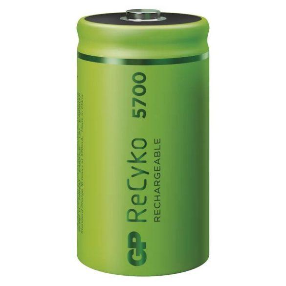 GP ReCyko akkumulátor  HR20 (D) 5700mAh 2db B2145