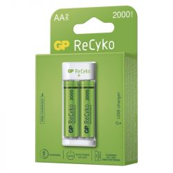 GP ECO AKKUTÖLTŐ E211 + 2×AA GP ReCyko 2000 B51214