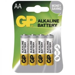 GP ALKÁLI ELEM LR6 (AA) 4BL BA1321