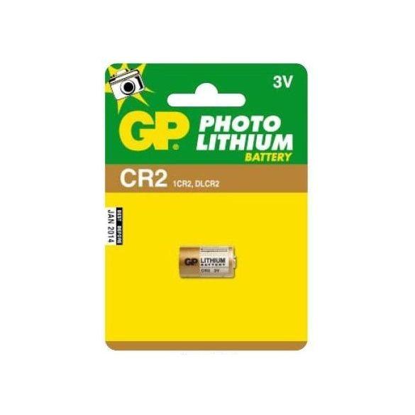 GP CR2 3V-os lithium fotó elem B1506