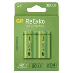 GP ReCyko akkumulátor Ni-Mh baby HR14 3000mAh bliszteres/2 B2133