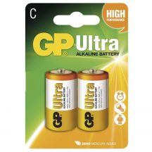 1,5V GP Ultra alkáli baby elem (LR14) BL/2