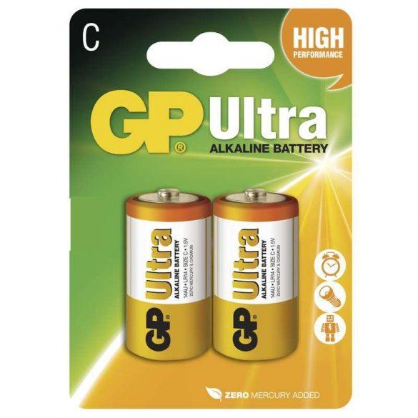 GP Ultra alkáli C baby elem (LR14) BL/2 B1931