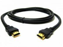 HDMI-HDMI kábel fekete 15 méter,1.4 version aranyozott