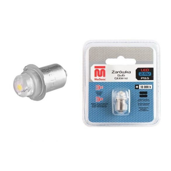 MACTRONIC PX 13,5 LED 3V 2 elemes lámpákhoz