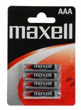 1,5V Maxell féltartós mikró AAA (R03) elem bl/4