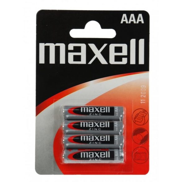 Maxell féltartós mikró AAA (R03) elem bl/4