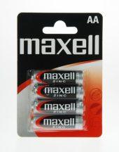 Maxell féltartós ceruza AA (R6) elem bl/4