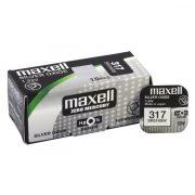 Maxell 317 ezüst oxid gombelem (SR516SW) 1,55V