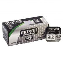 Maxell 319 ezüst oxid gombelem (SR527SW) 1,55V
