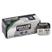 Maxell 321 ezüst oxid gombelem (SR616SW) 1,55V